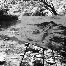 Painting by  the River